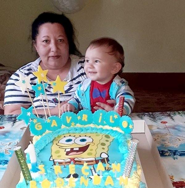 Najmlađem žitelju u podradanskim selima proslavljen prvi rođendan