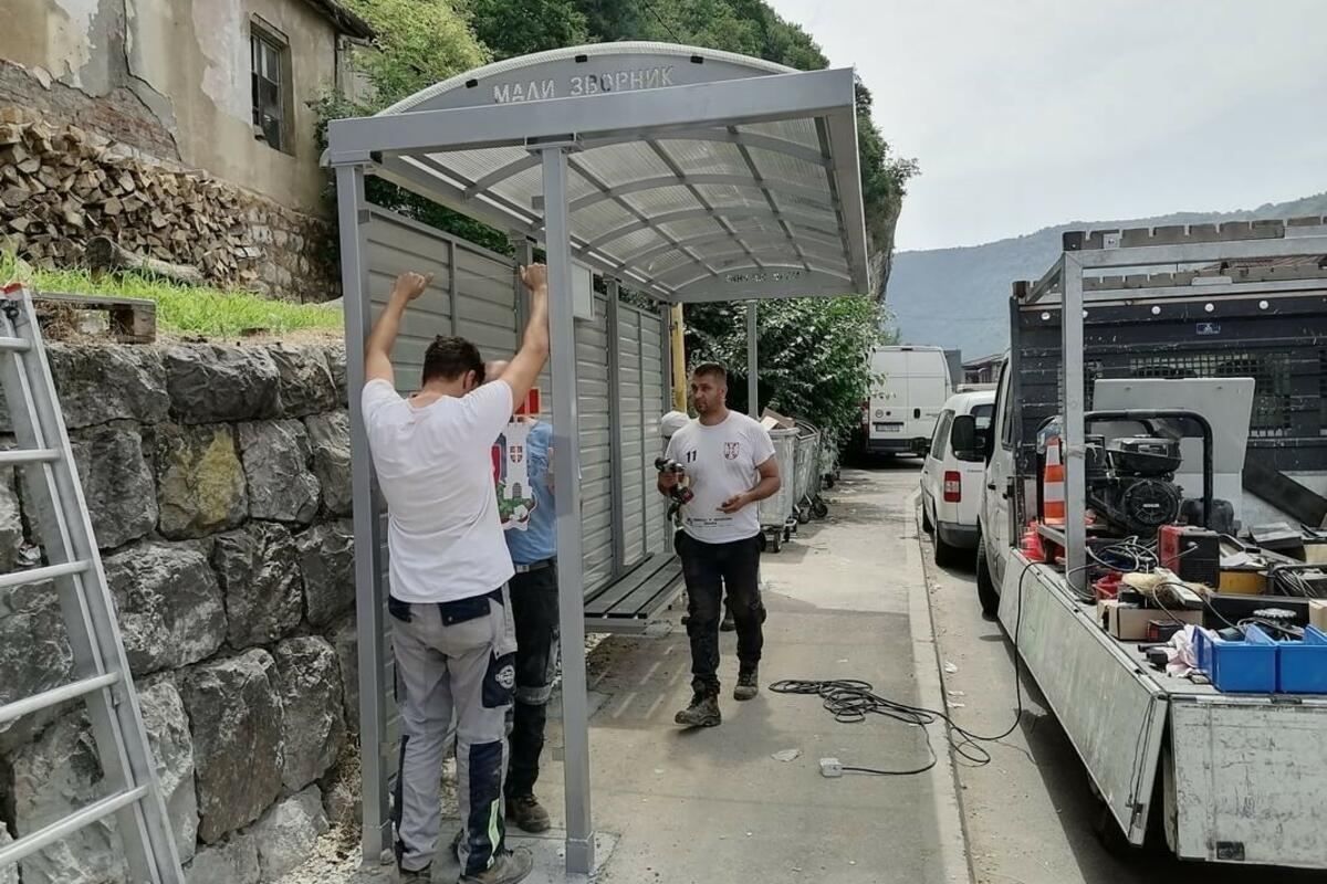 NOVA STAJALIŠTA: Nekoliko opština Malog Zvornika dobija autobuske stanice