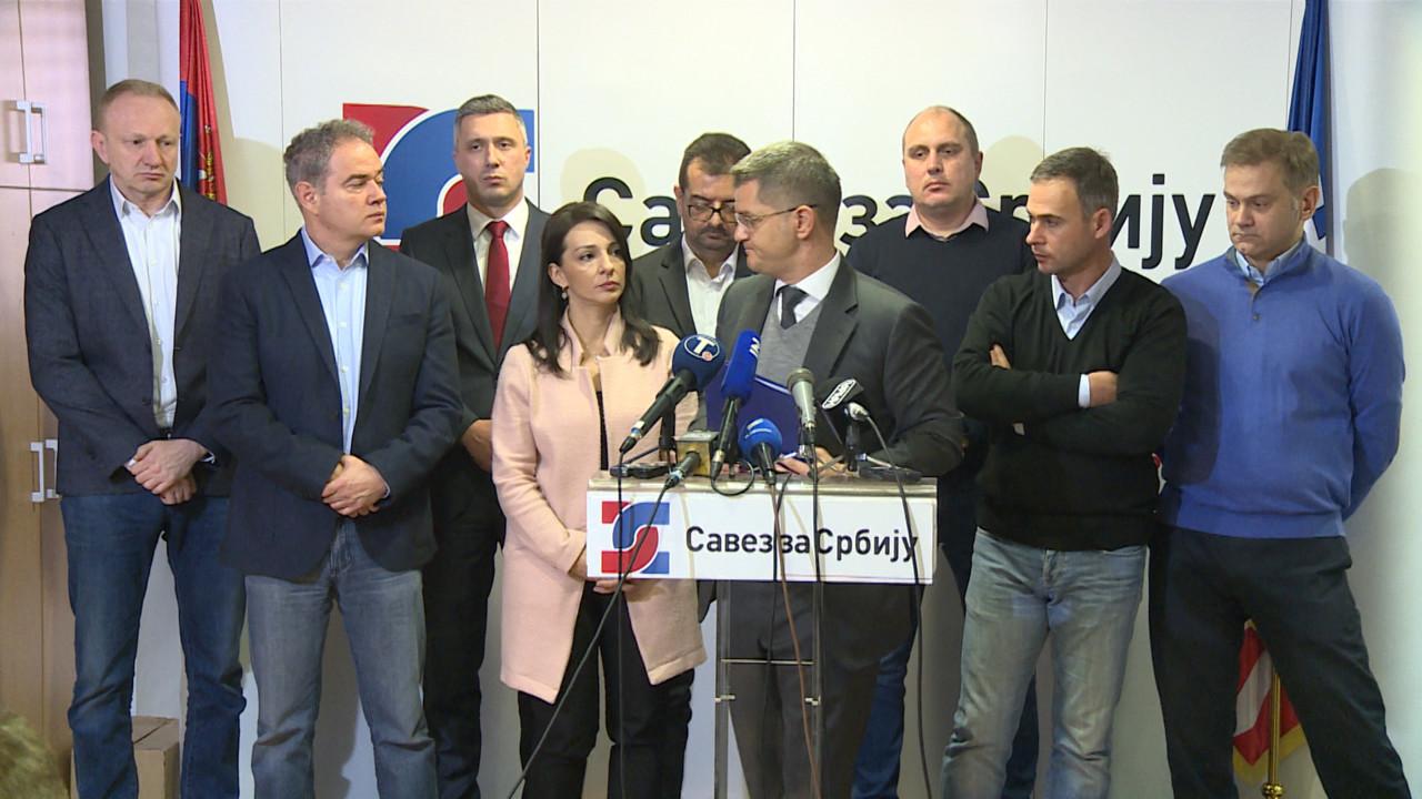 Zajednički nastup opozicije osta pusta želja, četiri grupe pred delegacijom EP
