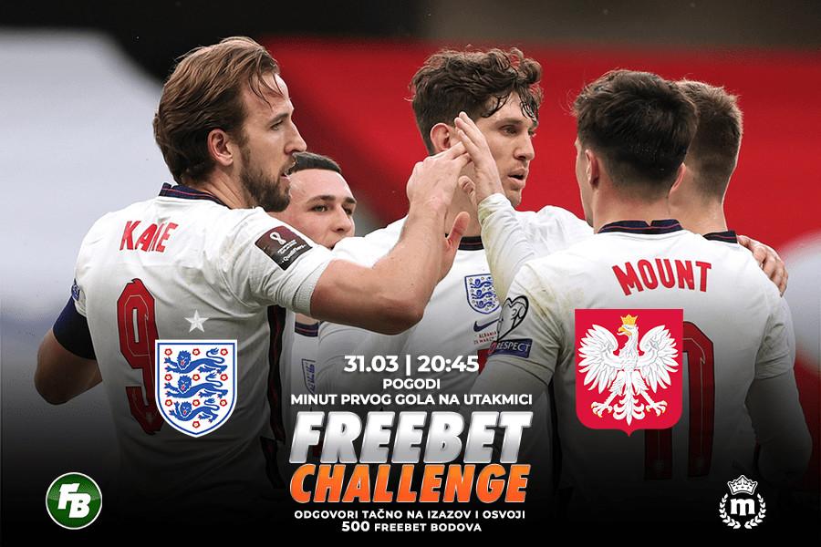 IGRE Pogodi minut prvog gola na meču Engleska – Poljska
