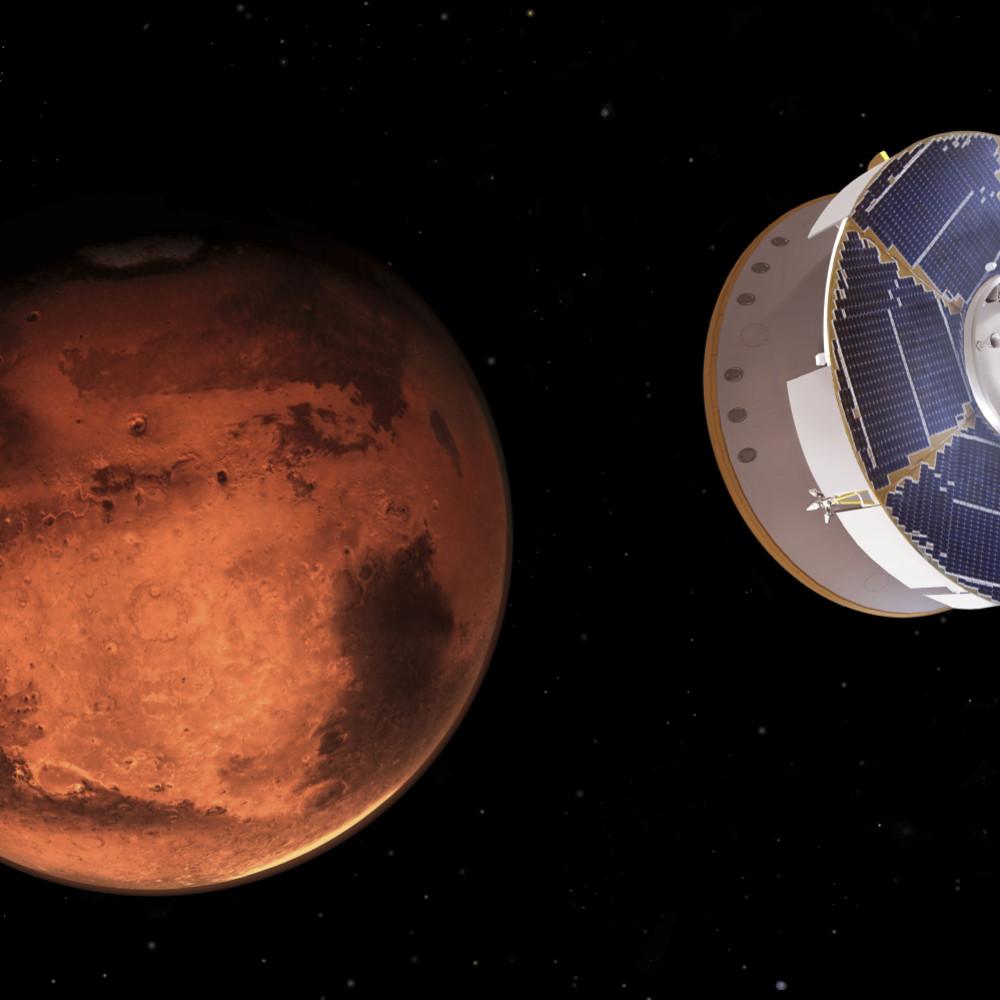 Kineski vasionski brod ušao u orbitu Marsa