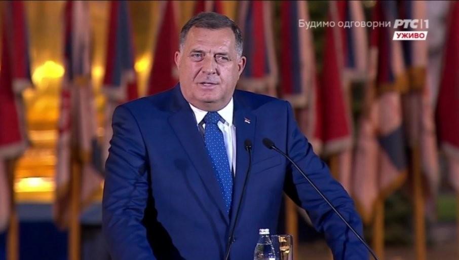 MI NISMO BOSANCI, JA SAM SRBIN PRAVOSLAVAC: Dodik se obratio okupljenom narodu povodom Dana srpskog jedinstva