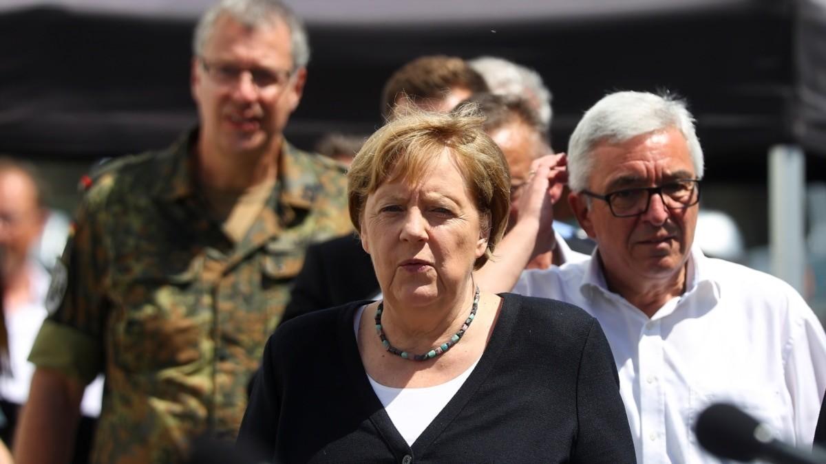 Merkel obećala pomoć ugroženima u poplavama