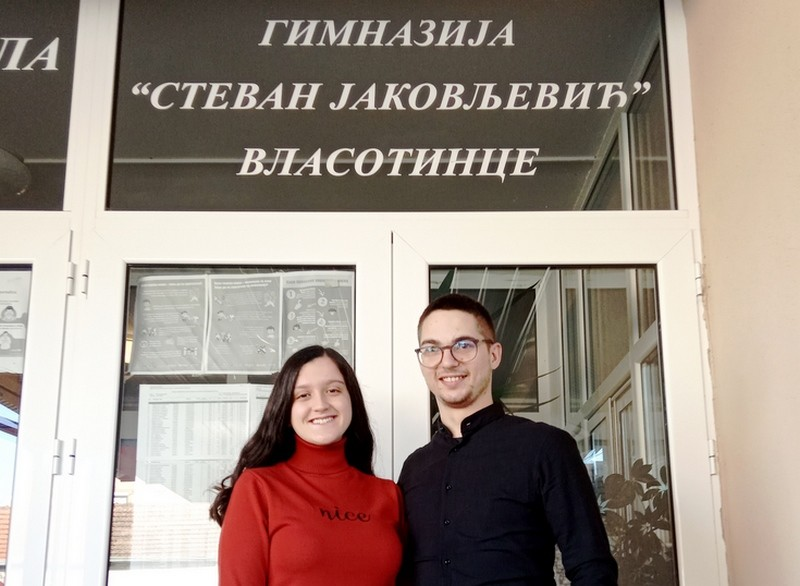 Anđelija Jovanović najbolja u okrugu iz matematike