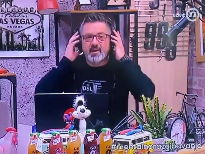 HAOS na televiziji Nova S: Voditelj Darko Mitrović u programu uživo dao OTKAZ (VIDEO)