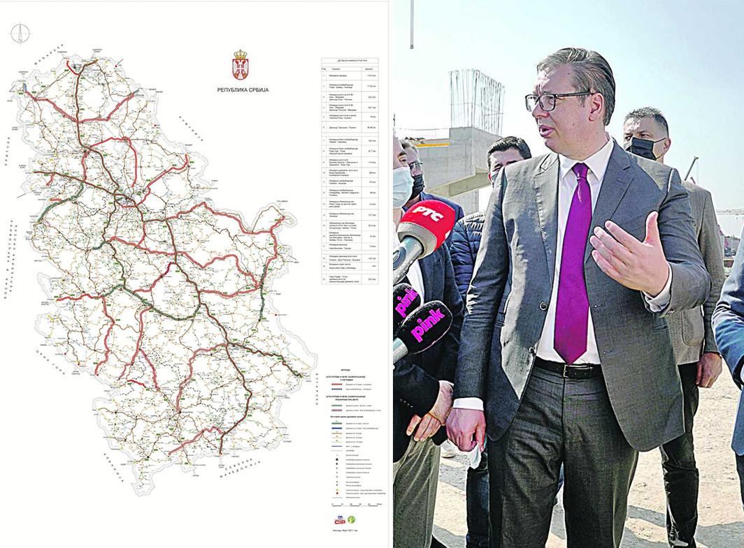 Vučić od zemlje gubitnika stvorio zemlju POBEDNIKA: Saobraćajnice postale najvažniji KRVOTOK Srbije