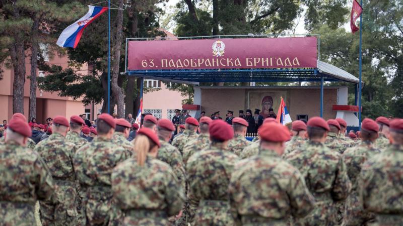Orden Svetog Save za 63. padobransku brigadu