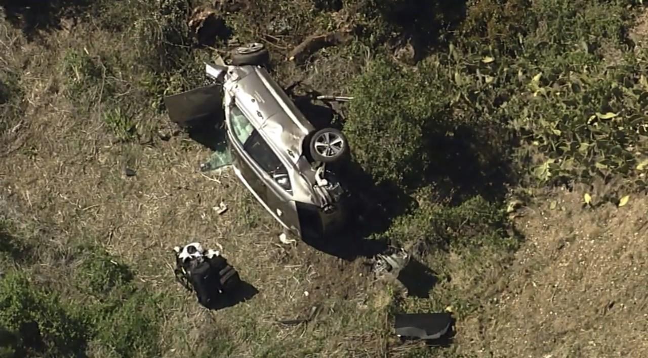 Prevrnuo se automobil Tajgera Vudsa, golfer u bolnici s povredama nogu