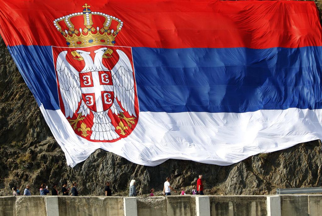 Nebo iznad Zvečana u čast praznika obojeno bojama srpske zastave! (VIDEO)