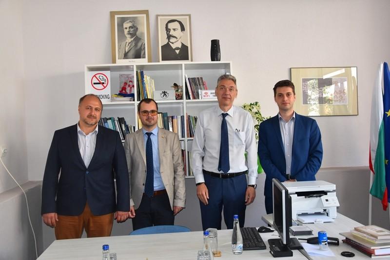 Bugarski ambasador Dojkov u BSC-u: U planu biznis forum za privrednike