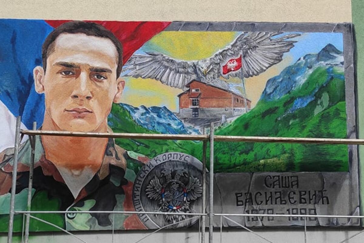 SAŠA JE POGINUO NA KOŠARAMA SA SAMO 19 GODINA: U njegovom rodnom gradu oslikan je mural, DA SE NIKADA NE ZABORAVI (FOTO)