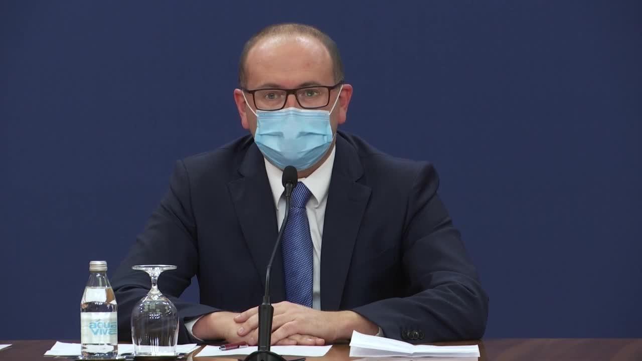 Gojković: Zabrinjavajuća epidemiološka situacija, zaraženo sve više mladih