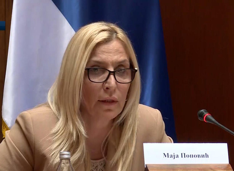 Ministarka pravde: Jojić i Radeta ne mogu biti izručeni Hagu