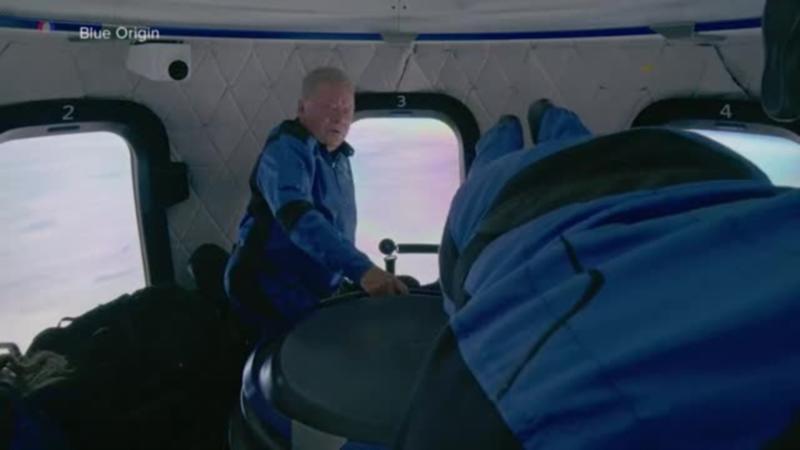 """""""Kapetan Kirk"""" posle leta u svemir: Ovo je najdivnije iskustvo"""