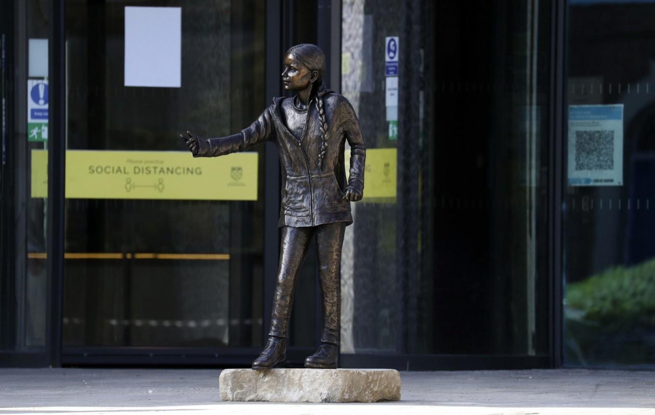 Statua Grete Tunberg izazvala polemiku zbog njenog finansiranja