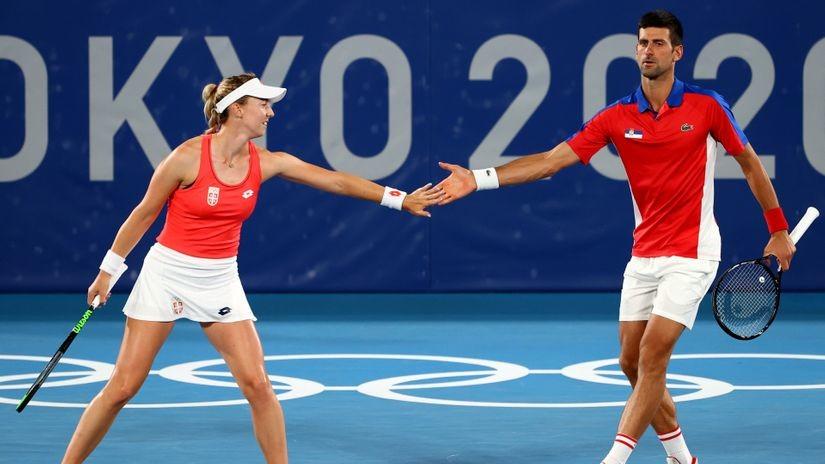 Srbija juriša na zlato i u miks dublu! Nina i Novak se igrali sa Nemcima