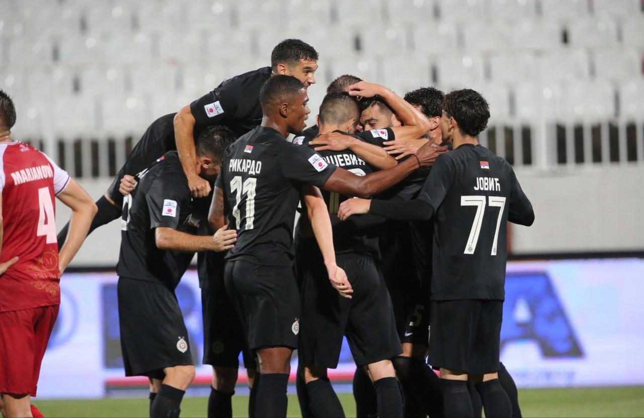 Partizan među nosiocima, Hajduk iz Splita potencijalni rival