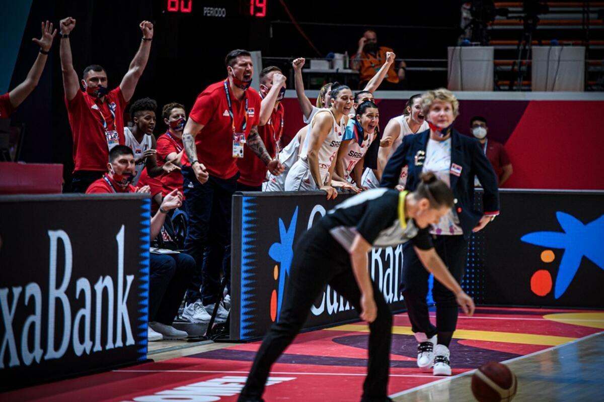 (UŽIVO, VIDEO) VREME JE ZA SLATKU OSVETU! Košarkašice igraju za polufinale: Srbija - Španija 0:0