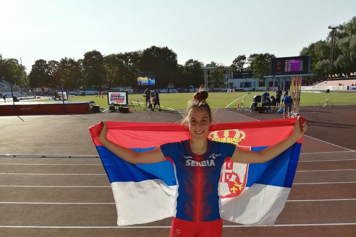 DVA SREBRA ZA SRBIJU: Uspeh srpske atletike na EP za juniore u Talinu