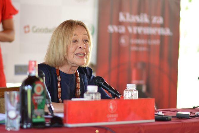 """Slovenačka diva Milena Zupančič: """"Joj, kad bih dobila nagradu za mladu, perspektivnu glumicu"""""""