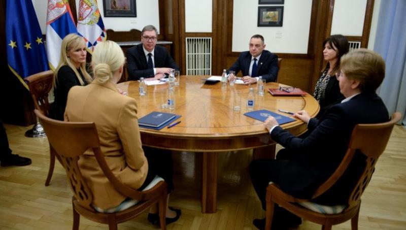 OPTUŽNICU PROTIV EDINA VRANJA USTUPAMO SARAJEVU: Predsednik Srbije sa tužiocima i ministrom policije o regionalnoj saradnji