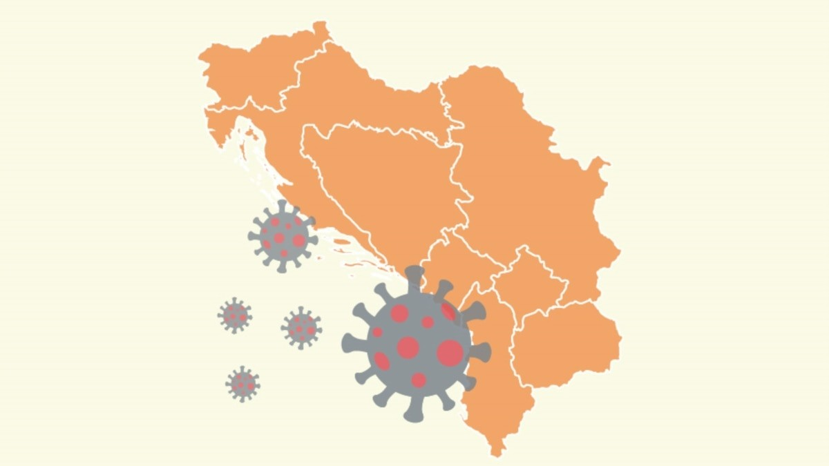 Dnevna statistika pandemije - svet i Zapadni Balkan