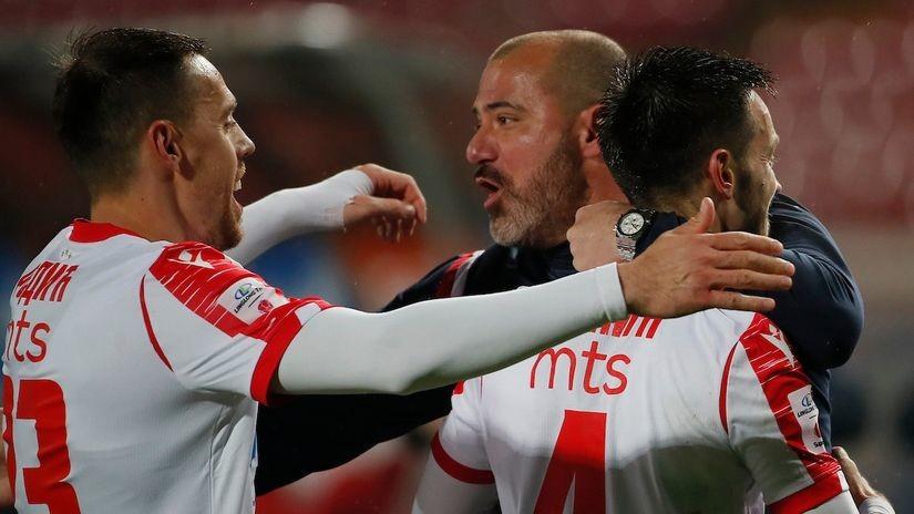 Stanković prezadovoljan: Loptu smo na silu ugurali u gol