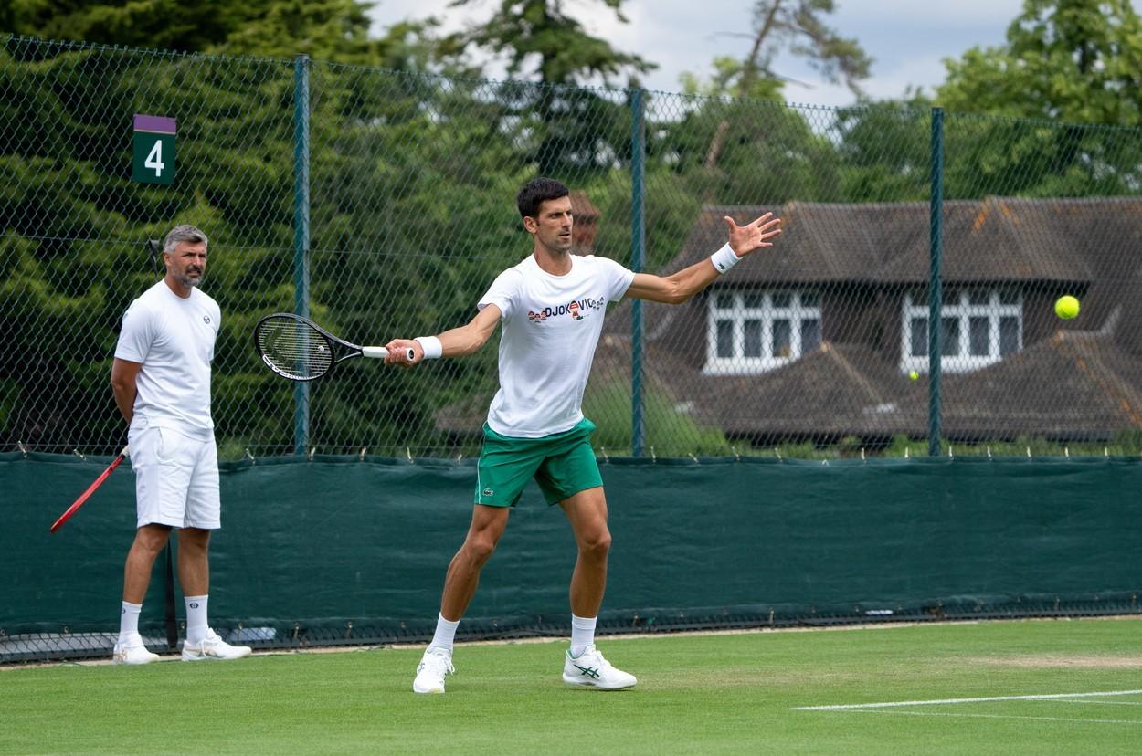 Vredno se radi: Novak u društvu bivšeg košarkaškog reprezentativca Srbije brusi formu za Tokio (FOTO)