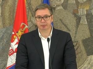 Вучић: Одбио сам предлог Квинте за решење, тражимо повлачење свих трупа са севера КиМ