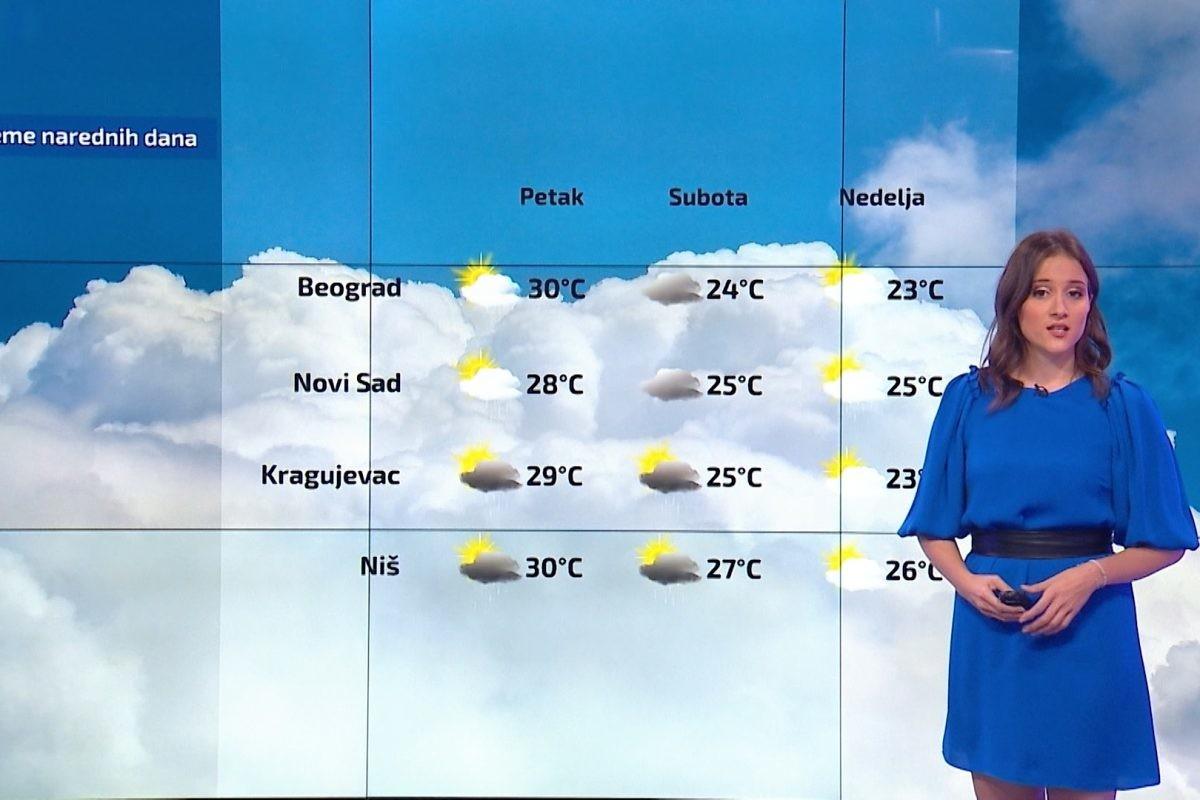 Vremenska prognoza – u četvrtak sunčano i toplo, u petak destabilizacija vremena