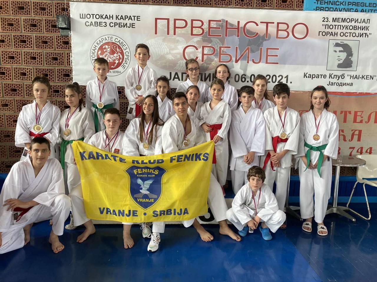 Karatisti Feniksa iz Vranja obezbedili plasman na Evropsko i Svetsko prvenstvo