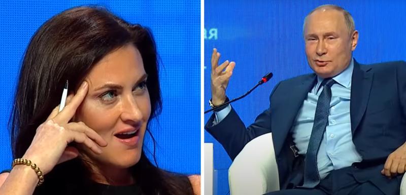 """Putin IZNENADIO američku novinarku: """"Lepa, SIMPATIČNA žena, a ne čuje!"""" (VIDEO)"""