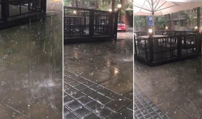 NEVREME SE STUŠTILO NA BEOGRAD! Grad pada na Slaviji, u Beogradu na vodi potop! RHMZ izdao novo upozorenje! /VIDEO/FOTO/