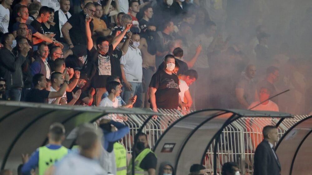FK Partizan se ograđuje od navijača koji su vređali Vučića