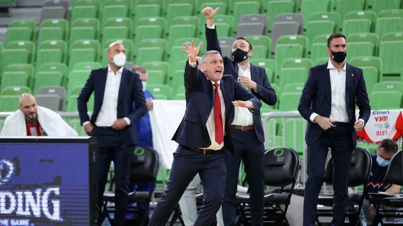 Radonjićeva analiza: Izdržali smo njihov udar, gradili igru, pogađali, bili dobri u odbrani...