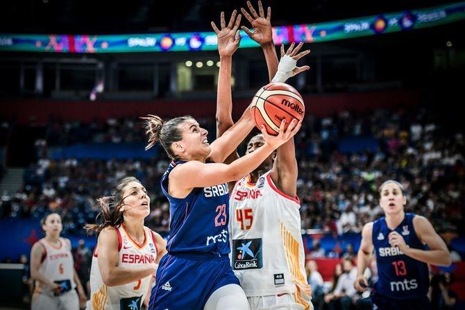 (UŽIVO) Borba za polufinale EP: Srbija i Španija u egalu (1/4)