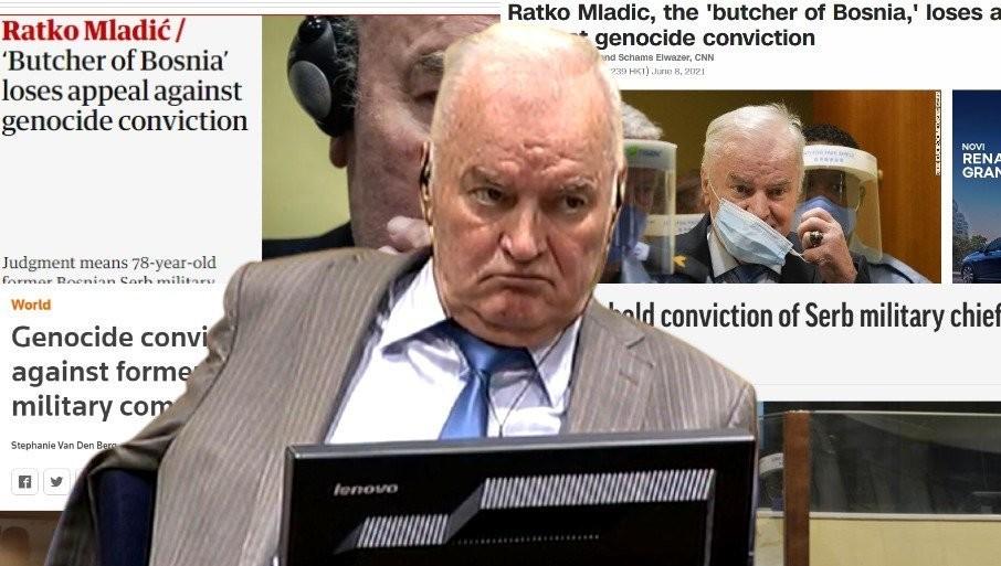 """IZVEŠTAVANJE SVETSKIH MEDIJA: Evo kako """"objektivni"""" i """"profesionalni"""" novinari pišu o izricanju presude Ratku Mladiću (FOTO)"""