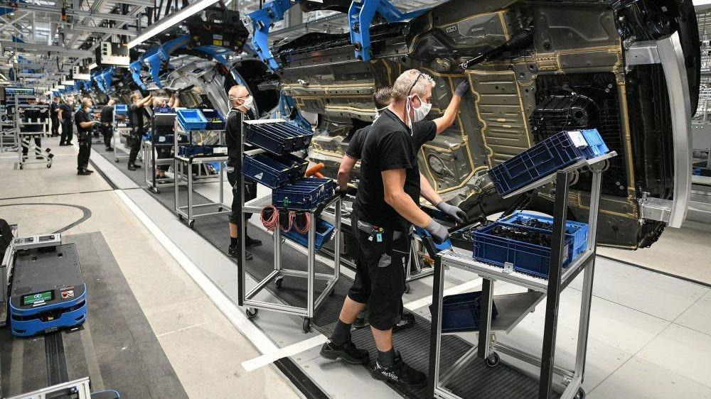 Međugodišnji rast industrijske proizvodnje u EU