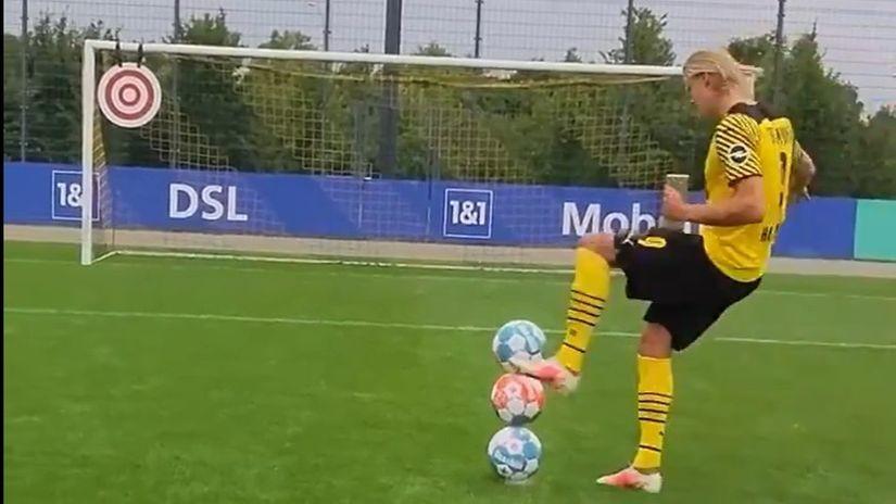 Erling Haland ima snajper u nogama (VIDEO)