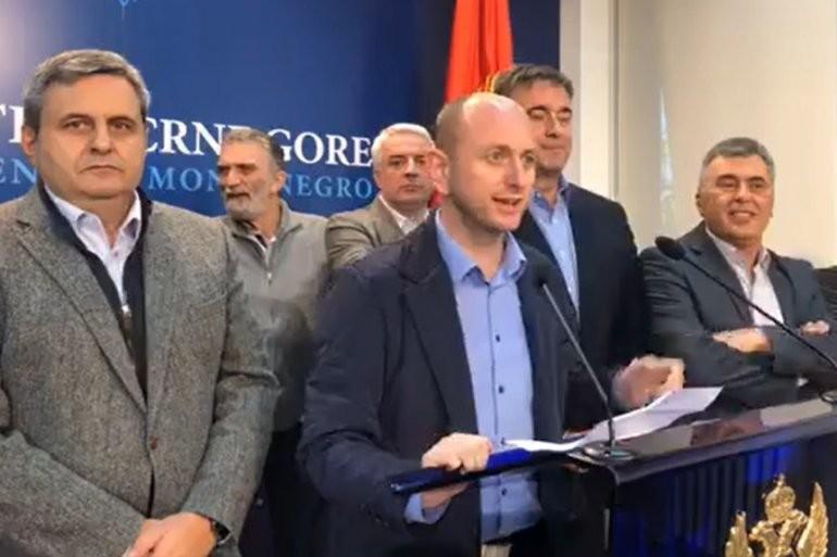 DEMOKRATSKI FRONT ULAZI U VLADU CRNE GORE! Postignut dogovor!