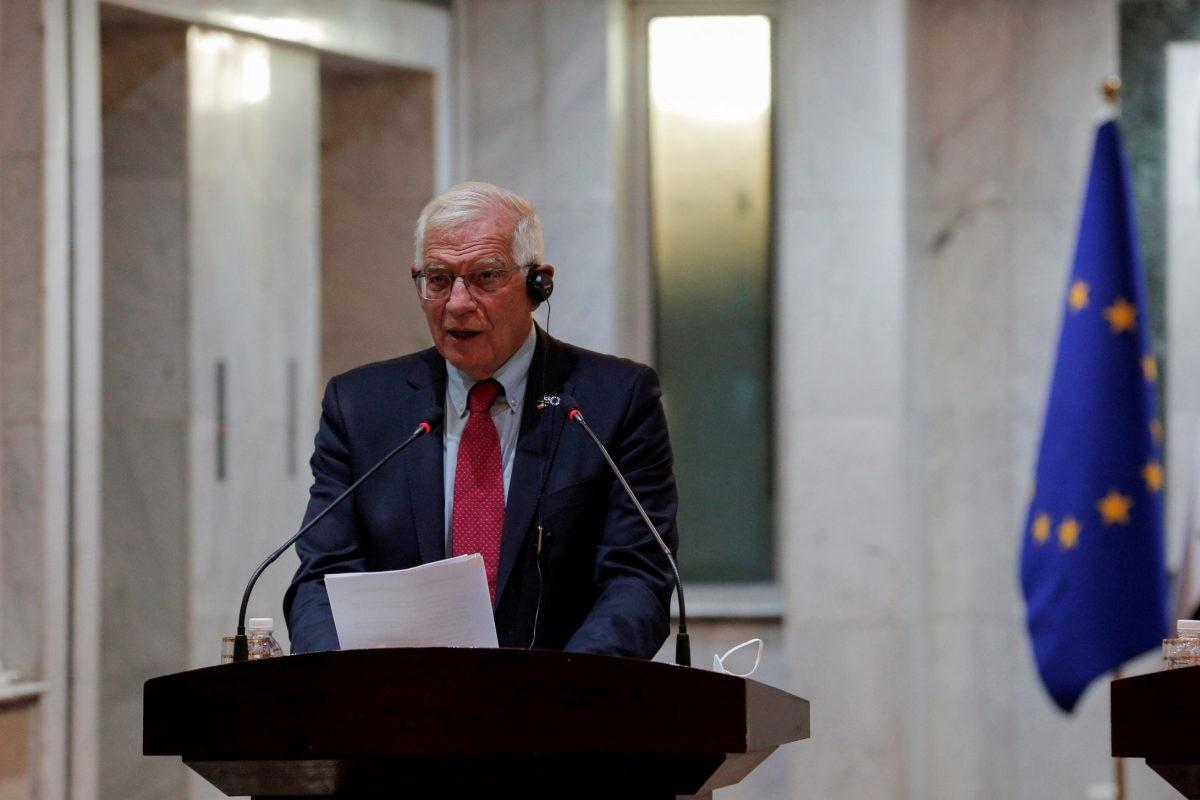 EU's Borrell calls for immediate end to violence in Kosovo