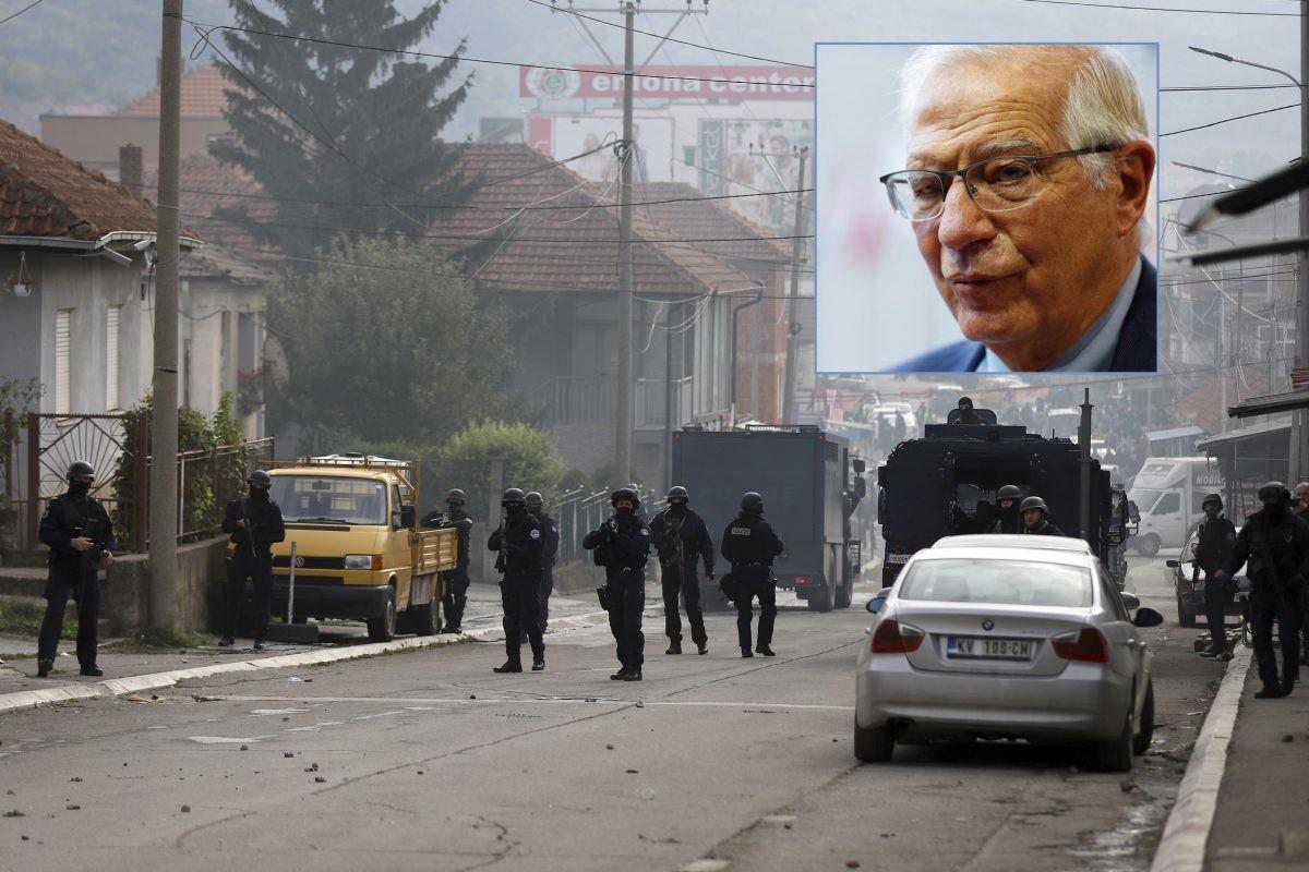 Borel poziva na smirivanje tenzija na Kosovu: Jednostrane akcije neprihvatljive
