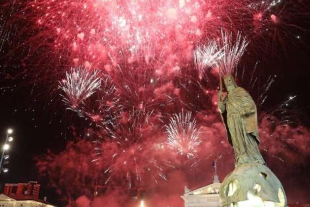 VUČIĆ PODELIO PRELEPU FOTOGRAFIJU SA CEREMONIJE: Okačio je PRELEP vatromet (FOTO)