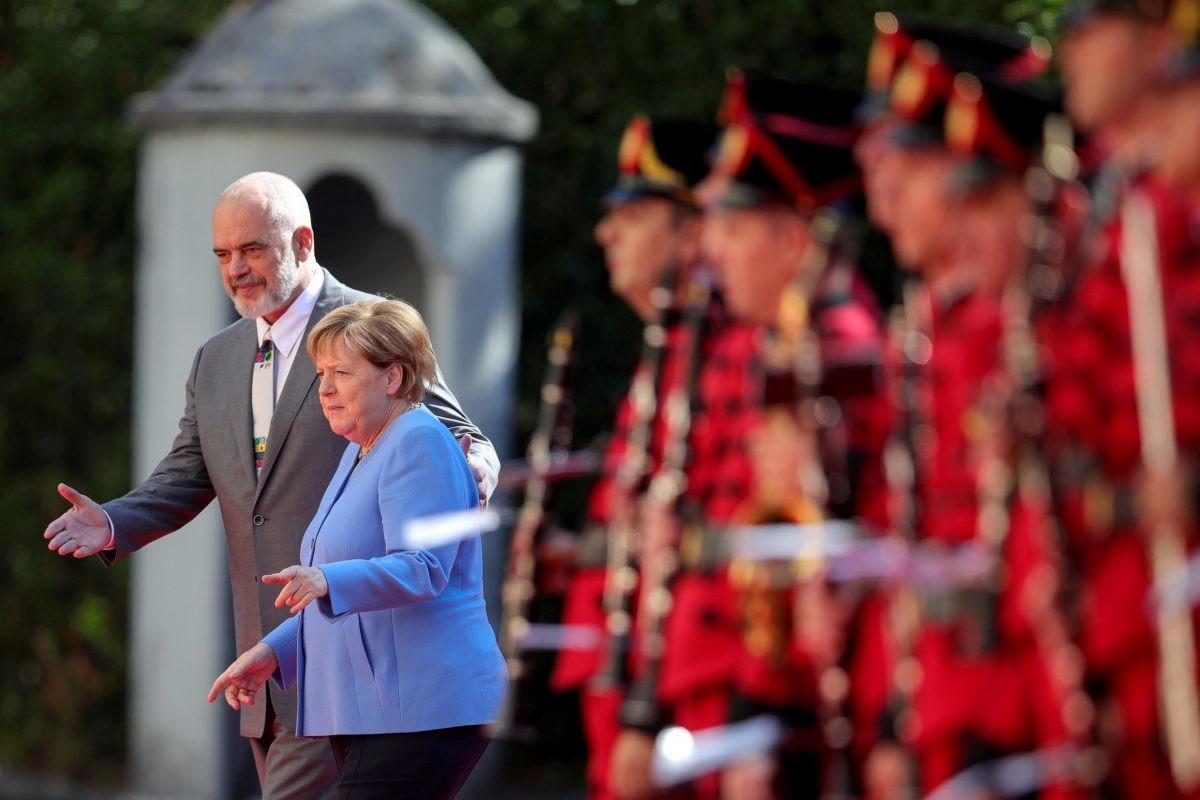 Merkel u Tirani, razgovarala s Ramom