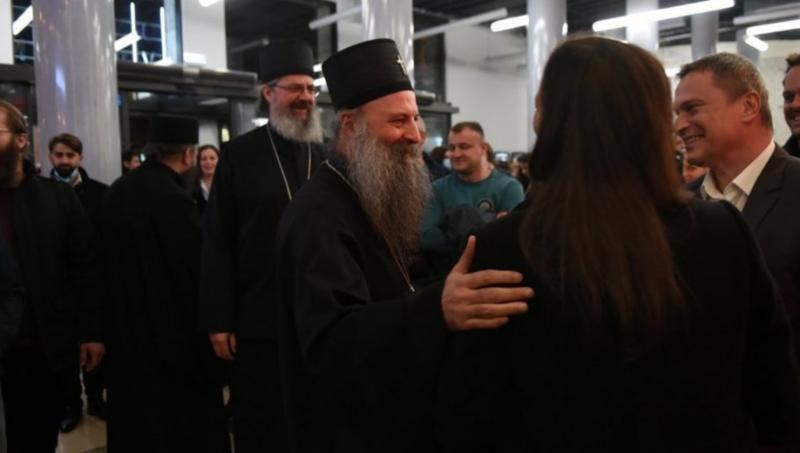 """PREMIJERA FILMA """"BOŽIJI ČOVEK"""": Prisustvovao i patrijarh Porfirije (FOTO)"""