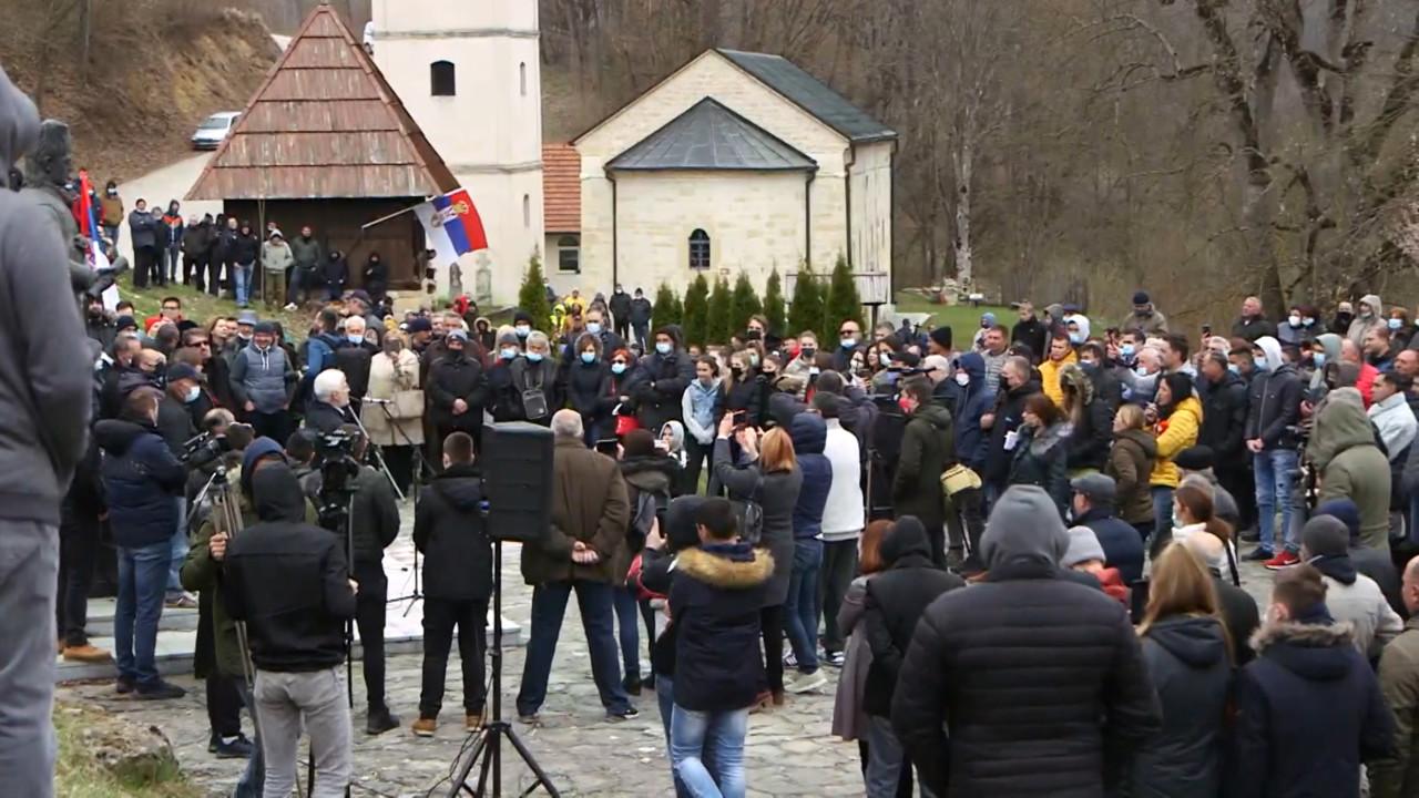 Protest u Dobrinji zbog litijuma: Nećemo dozvoliti ono što se dešava kod Loznice