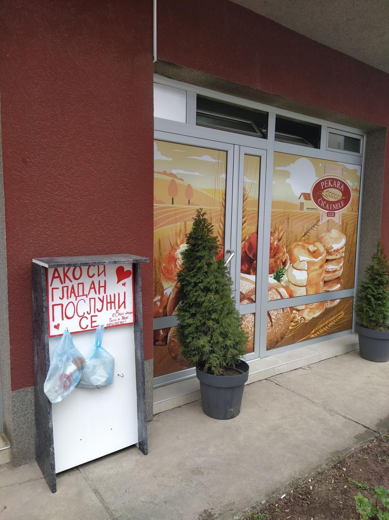 Foto-vest: Doručak za sve u pekari u Panteleju