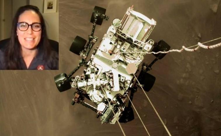"""Како је Драгана спустила """"ровер"""" на Марс"""