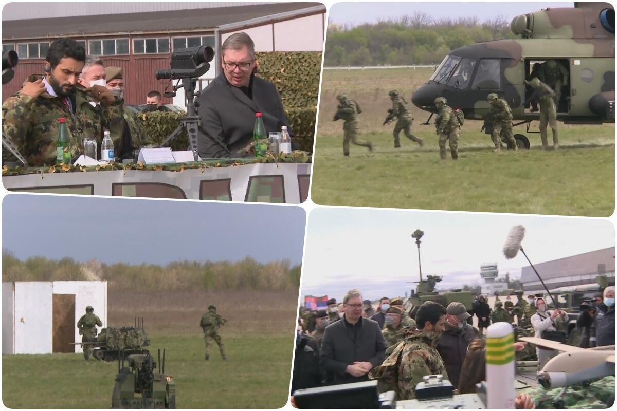 UZ MIGOVE-29 SRPSKO NEBO JE JOŠ BEZBEDNIJE: Vojska Srbije je danas 20 PUTA SNAŽNIJA nego što je bila 1999. godine!
