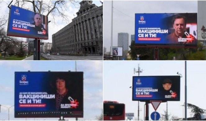 Vesić: Hvala svim javnim ličnostima koje su podržale kampanju o važnosti imunizacije! Foto
